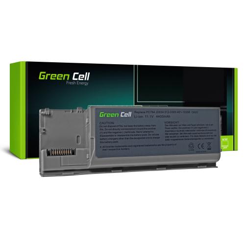 Bateria Green Cell PC764 JD634 do Dell Latitude D620 D630 D631 D620 ATG D630 ATG