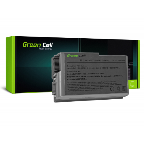 Bateria Green Cell C1295 do Dell Latitude D500 D510 D520 D600 D610