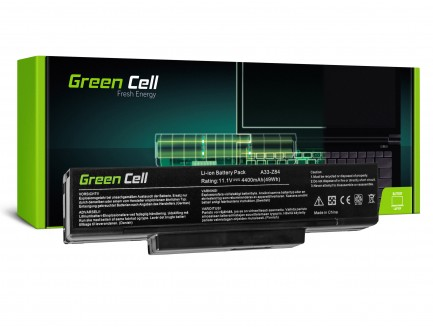 Bateria Green Cell BTY-M66 M660NBAT-6 do Asus A9 X56 X56K Z53 Z53J Z53S PC CLUB EnPower ENP 630