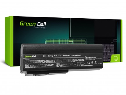 Bateria akumulator Green Cell do laptopa Asus G50 L50 M50 M60 X57 X5M A32-M50 10.8V 9 cell