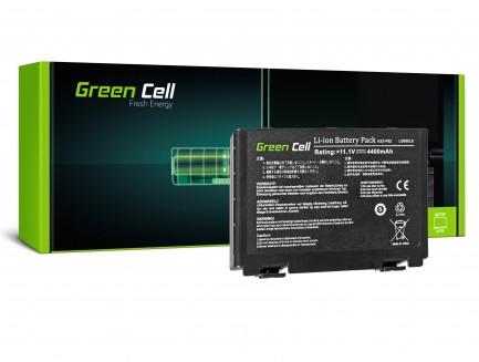 Bateria Green Cell A32-F82 A32-F52 L0690L6 do Asus K40iJ K50 K50AB K50C K50IJ K50i K50iN K70 K70IJ K70IO
