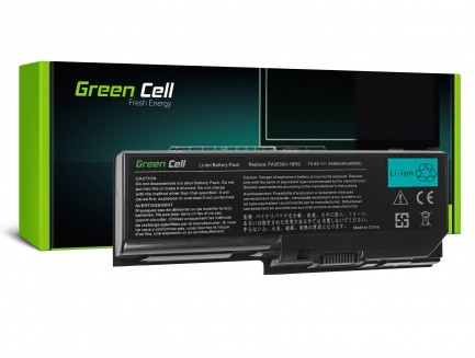 Bateria Green Cell PA3536U-1BRS do Toshiba Satellite P200 P300 L350