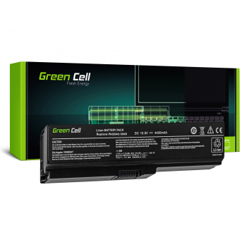 Bateria Green Cell PA3817U-1BRS PA3634U-1BRS do Toshiba Satellite U500 L750 A650 C650 C655 10.8V 6 cell