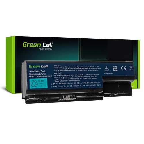 Bateria Green Cell AS07B32 AS07B42 AS07B52 AS07B72 14.8V do Acer Aspire 7220G 7520G 7535G 7540G 7720G