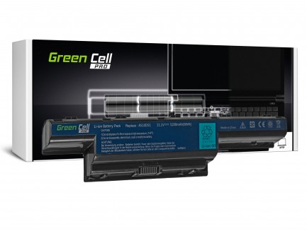Bateria Green Cell PRO AS10D31 AS10D41 AS10D51 AS10D71 do Acer Aspire 5741 5741G 5742 5742G 5750 5750G E1-521 E1-531 E1-571