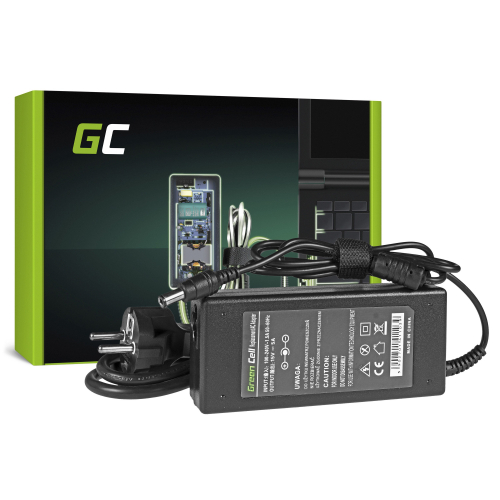 Zasilacz Ładowarka Green Cell do Toshiba Portege A200 R400 R500 Tecra A3 A6 A8 Satellite Pro S500 15V 5A