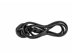 Kabel zasilający sieciowy 3 PIN koniczynka 1.2m wersja angielska