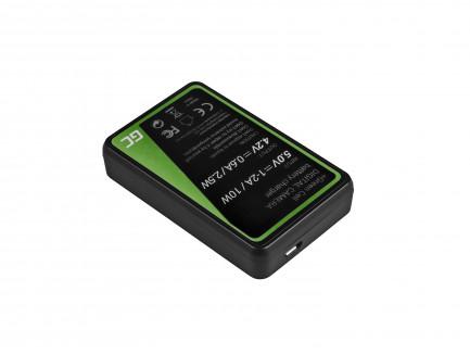Ładowarka MH-61 Green Cell ® do Nikon EN-EL5, Coolpix P100, P500, P530, P520, P510, P5100, P5000, P6000, P90, P80