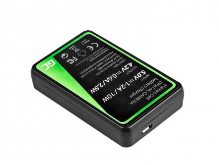 Ładowarka MH-65 Green Cell ® do Nikon EN-EL12, AW100S, S640, AW100, P300, P330, P310, S70 S6000
