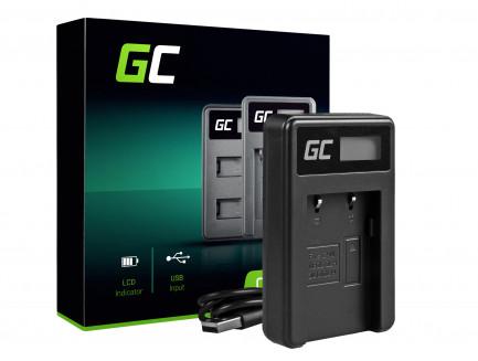 Ładowarka CB-2LW Green Cell ® do Canon NB-2L / NB-2LH, PowerShot G7 G9 S70 S80 R100 R11 Canon Elura 85 90 EOS 350D 400D