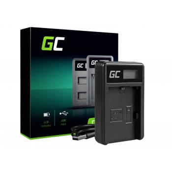 Ładowarka LC-E6 Green Cell ® do Canon LP-E6 LPE6N, EOS 5D MARK III/II 6D 7D 60D 60DA BG-E6 (8.4V 5W 0.6A)