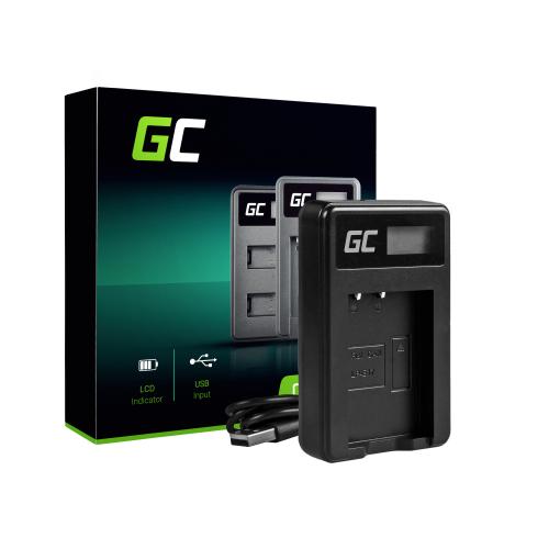 Ładowarka LC-E17 Green Cell ® do Canon LP-E17, EOS 77D, 750D, 760D, 8000D, M3, M5, M6, Rebel T6i, Rebel T6s, EOS Rebel T7i