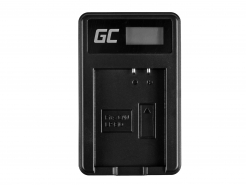 Ładowarka LC-E10 Green Cell ® do Canon LP-E10, EOS Rebel T3, T5, T6, Kiss X50, Kiss X70, EOS 1100D, EOS 1200D, EOS 1300D