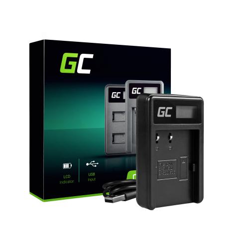 Ładowarka CB-5L Green Cell® do Canon BP-511, EOS 5D, 10D, 20D, 30D, 50D, D30, 300D, PowerShot G1, G2, G3, G5, Pro 1