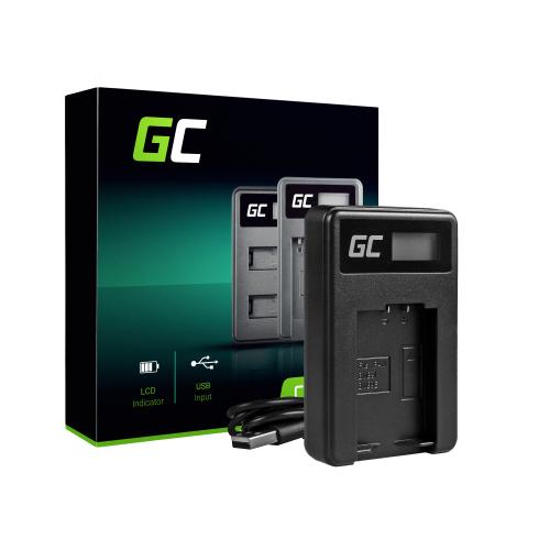 Ładowarka DE-A83, DE-A84 Green Cell ® do Panasonic DMW-MBM9, Lumix DMC-FZ70, DMC-FZ60, DMC-FZ100, DMC-FZ40, DMC-FZ47, DMC-FZ150