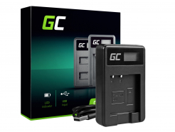 Ładowarka BC-CSN Green Cell ® do Sony NP-BN1, Cyber-Shot DSC TF1 TX5 TX7 TX10 TX20 QX10 QX30 QX100 W530 W650 W800 WX30 WX50