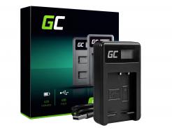 Ładowarka BC-CSG Green Cell ® do Sony NP-BG1 NP-FG1, DSC H10 H20 H50 HX5 HX10 HX20V N1 N2 T50 T100 W30L W35 W50 W70 WX10