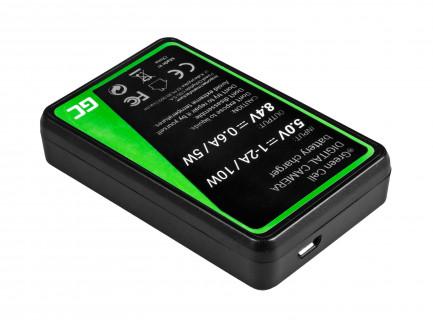 Ładowarka BC-W126 Green Cell ® do Fujifilm NP-W126, FinePix HS30EXR, HS33EXR, HS50EXR, X-A1, X-A3, X-E1, X-E2, X-M1, X-T1, X-T2