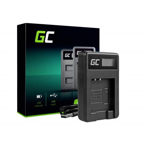 Ładowarka LI-50C Green Cell ® do Olympus LI-50B, SZ-15, SZ-16, Tough 6000, 8000, TG-820, TG-830, TG-850, VR-370, XZ-1, XZ-10