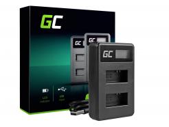 Ładowarka AHBBP-301 Green Cell ® do AHDBT-201, AHDBT-301, GoPro HD Hero 3, GoPro HD Hero 3+