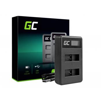 Ładowarka AHBBP-501 Green Cell ® do GoPro AHDBT-501, Hero 5 Hero 6 Hero 7 HD Black White Silver Edition (4.35V 2.5W 0.6A)