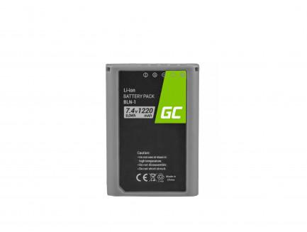 Bateria BLN-1/BCN-1 i Ładowarka BCN-1 Green Cell ® do Olympus PEN-F, OM-D EM1, EM5, OM-D E-M5 Mark II 7.4V 1020mAh