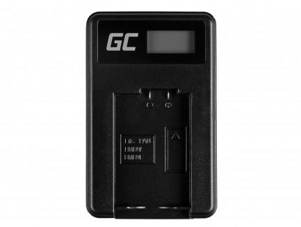 Bateria DMW-BMB9 i Ładowarka DE-A83, DE-A84 Green Cell ® do Panasonic Lumix DMC-FZ70, DMC-FZ60, DMC-FZ100 7.4V 750mAh