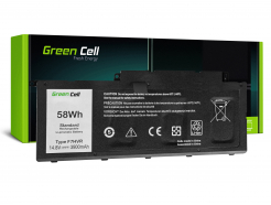 Bateria Green Cell F7HVR do Dell Inspiron 15 7537 17 7737 7746