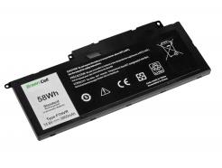 Bateria Green Cell F7HVR do Dell Inspiron 15 7537 17 7737 7746, Dell Vostro 14 5459