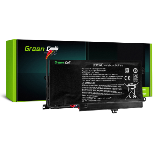 Bateria Green Cell PX03XL do HP Envy 14-K M6-K