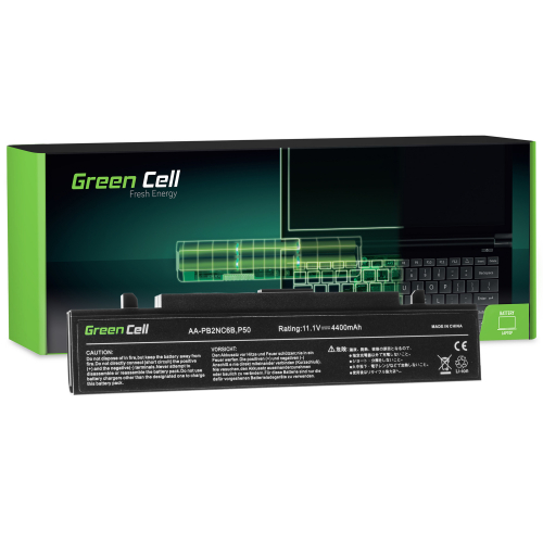 Bateria Green Cell AA-PB4NC6B do Samsung R60 R61 R70 R509 R510 R560 R610 R700 R710
