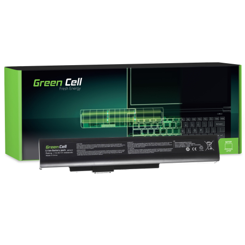 Bateria Green Cell A32-A15 do MSI CR640 CX640, Medion Akoya E6221 E7220 E7222 P6634 P6815, Fujitsu LifeBook N532 NH532