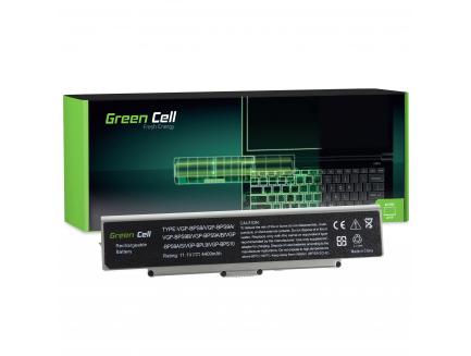 Bateria Green Cell VGP-BPS9/B do Sony Vaio VGN-NR CR AR570 AR670 AR770 (Srebrna)