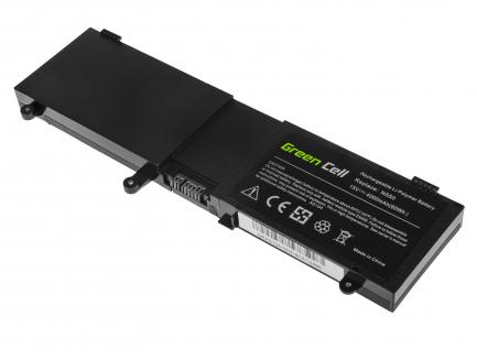 Bateria Green Cell C41-N550 do Asus ROG G550 G550J G550JK N550 N550J N550JV N550JK N550JA