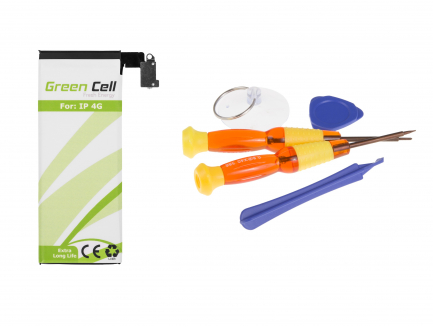 Bateria Green Cell do telefonu Apple iPhone 4 4G + zestaw narzędzi