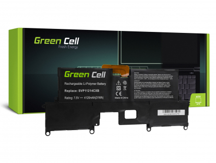 Bateria Green Cell VGP-BPS37 do Sony Vaio Pro 11