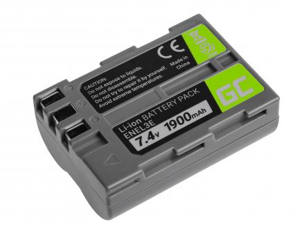 Bateria Green Cell ® EN-EL3 / EN-EL3E do Nikon D-SLR D50 D70 D80 D90 D100 D200 D300 D700 D900 7.4V 1900mAh