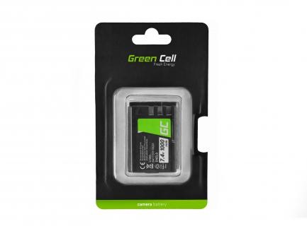 Bateria Green Cell ® EN-EL9 / EN-EL9E do Nikon D-SLR D40 D40A D40C D40X D60 D3000 D5000 7.4V 1000mAh