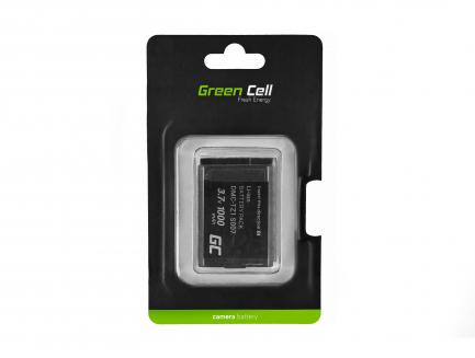 Bateria Green Cell ® CGA-S007 do Panasonic Lumix DMC-TZ1 DMC-TZ2 DMC-TZ3 DMC-TZ4 DMC-TZ5 DMC-TZ11 DMC-TZ15 3.7V 1000mAh