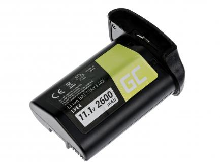 Bateria Green Cell ® LP-E4 do Canon EOS 1D 1Ds 1D X 1D Mark III Mark IV 11.1V 2600mAh