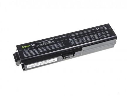 Powiększona Bateria Green Cell PA3817U-1BRS do Toshiba Satellite C650 C650D C655 C660 C660D C670 C670D L750 L750D L755