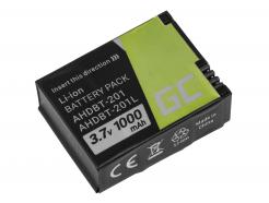 Bateria Green Cell ® AHDBT-201 AHDBT-301 AHDBT-302 do GoPro HD HERO3 HERO3+ 3.7V 1000mAh