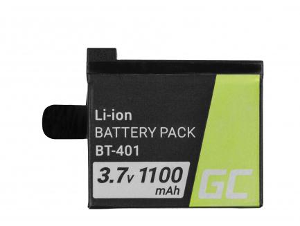 Bateria Green Cell ® AHDBT-401 do GoPro HD HERO4 Silver Black 3.7V 1100mAh