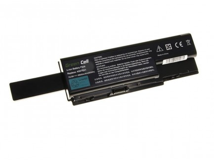 Bateria Green Cell AS07B31 AS07B41 AS07B51 do Acer Aspire 5220 5520 5720 7720 7520 5315 5739 6930 5739G