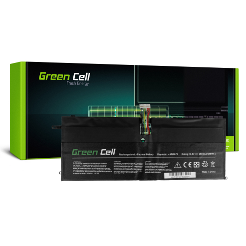 Bateria Green Cell 45N1070 45N1071 do Lenovo ThinkPad X1 Carbon 1 Gen 3443 3444 3446 3448 3460 3462 3463