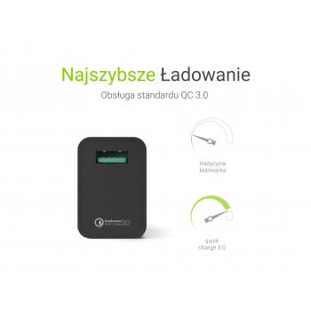 Ładowarka USB 5V/2.4A 9V/2.0A 12V/1.5A