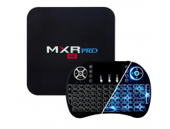 TV Box MXQ PRO (4GB RAM, 32GB eMMC, 4x2.0GHz, Android 7.1 Nougat) + Klawiatura Green Cell
