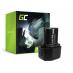 Bateria Green Cell (1.5Ah 7.2V) BCC715 EB712S EB714S EB7 do Hitachi NR90GC2 FDS7DVA DN6DM DN10DSA NR90GC WH6DC