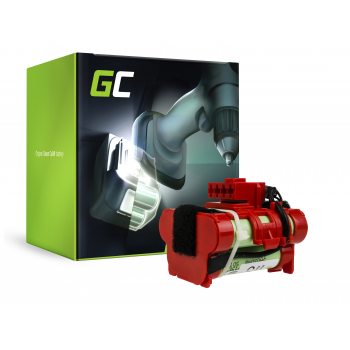 Bateria Green Cell (1.5Ah 18V) do Gardena R38Li R50Li R80Li Husqvarna Automower 105 305 Flymo 1200R McCulloch ROB R1000 R800