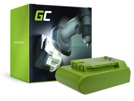Bateria Akumulator Green Cell do kosiarki GreenWorks 29852 G-24 G24 24V 4Ah Samsung